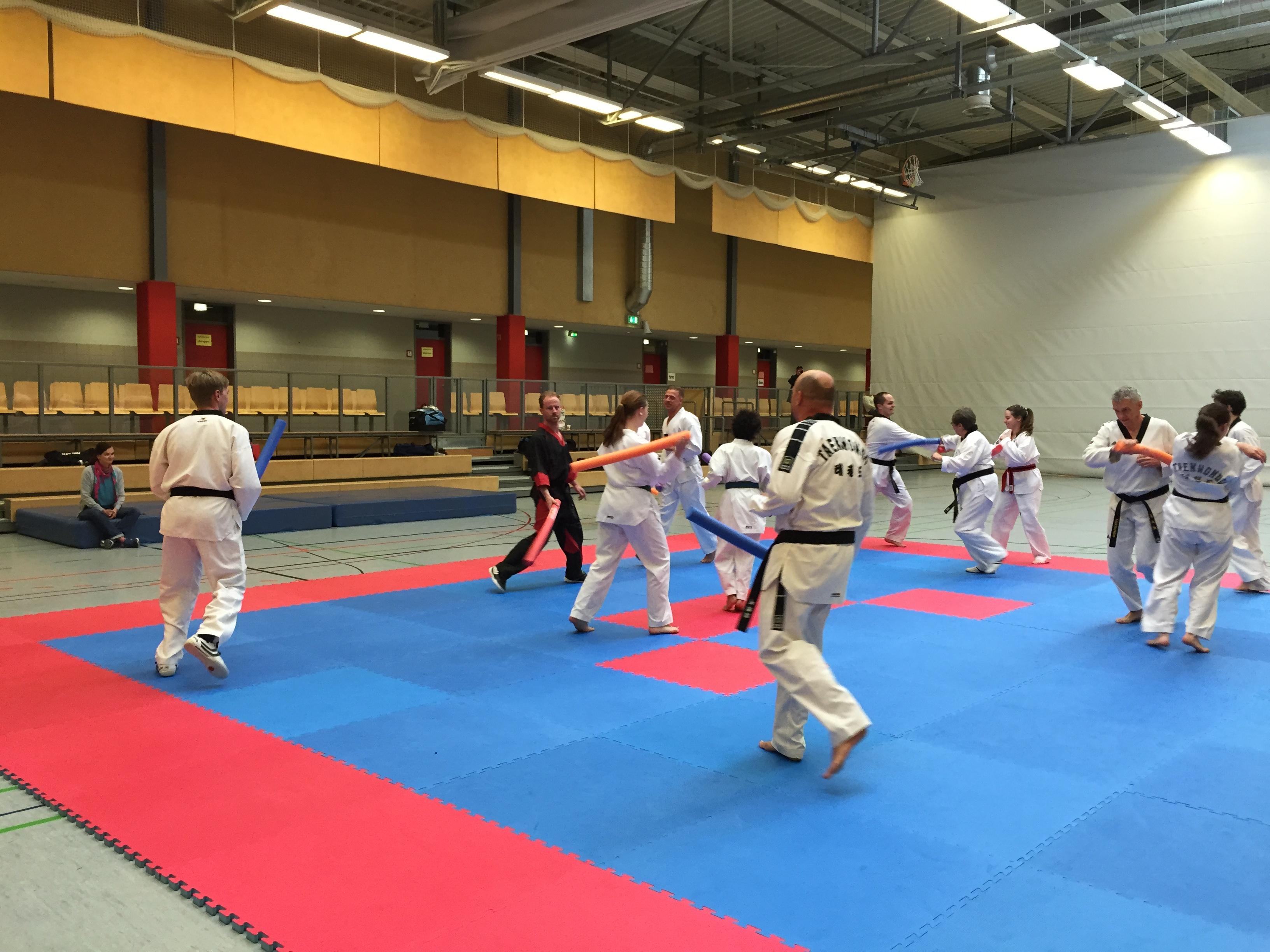 Taekwondo Schiefbahn